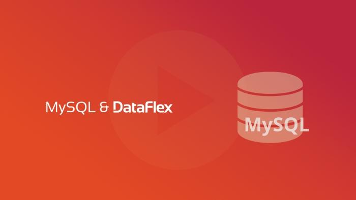 2019-07-09 DFLC SYNERGY MySQL and More for DataFlex OG