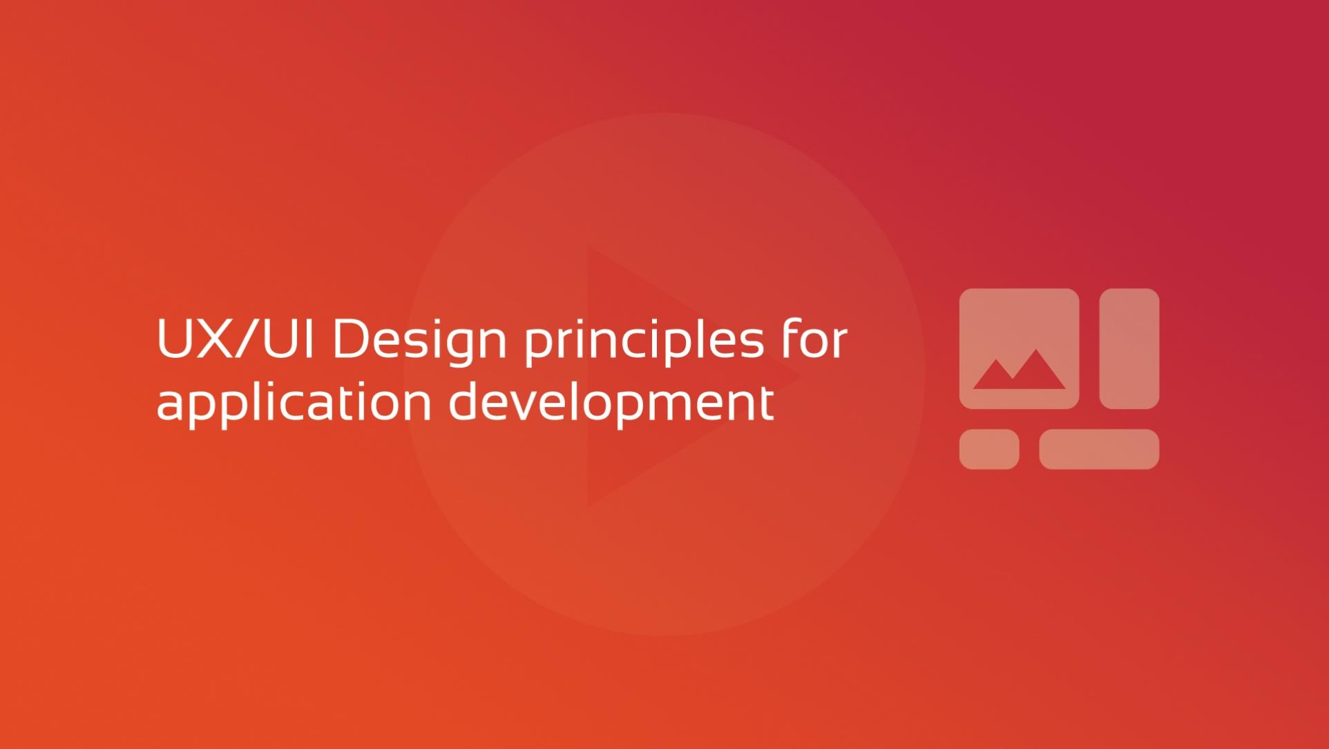 2019-10-04 DFLC UX UI Design principles for application development