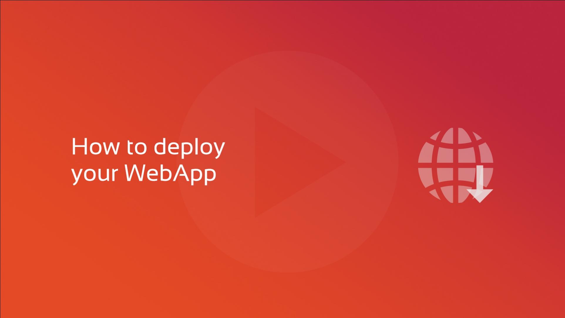 2020-01-28 Web Deployment OG