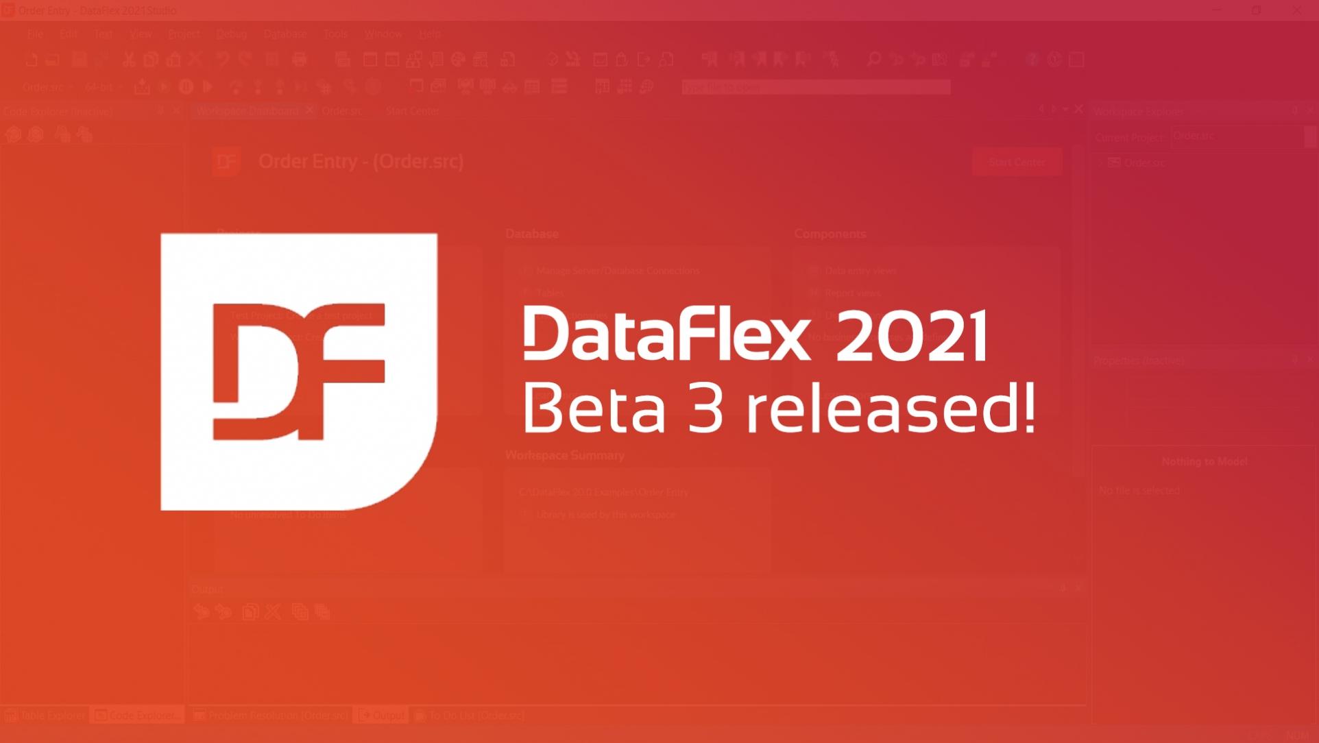 2020-12-08 DataFlex 2021 OG image Beta 3